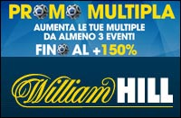 Bonus Scommessa Multipla di William Hill